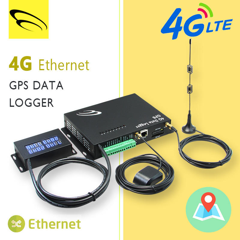 Temperature Humidity Ethernet Data Logger gsm modem 3g 4g