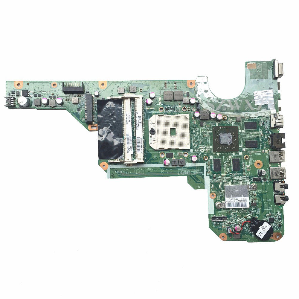 For HP Pavilion G4 G6 G6-2000 G4-2000 G7-2000 Laptop Motherboard 683030-001 DA0R53MB6E1 Full Tested Free Shipping