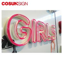 neon letter/custom high quality neon lighted sign