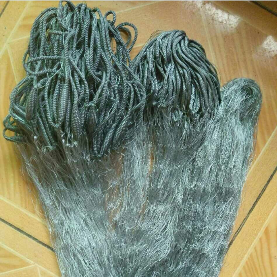 grey nylon monofilament thailand 0.2mm 38mmsq fishing net