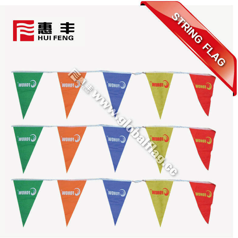 Bunting Pennant Triangle String Flag