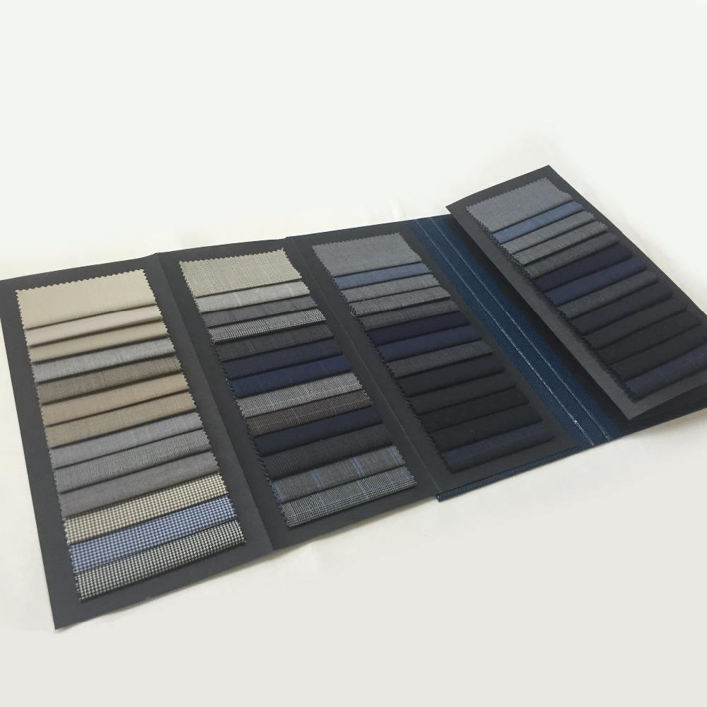 Оптовая продажа Карт Бумаги Дизайн Упаковки Заголовка Карточки Образец Ткани Цвета