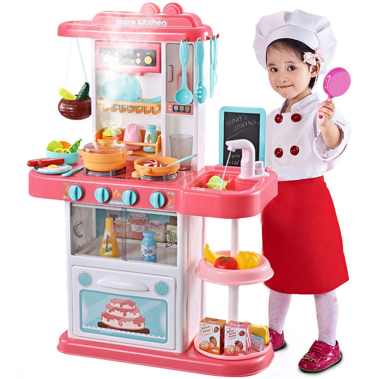 Plastic Toy Home Play Set Kitchen Toys for Girls