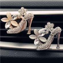 Car Air Conditioning Air Vent Perfumes Clip Girl High Heels Car Perfume Air Freshener