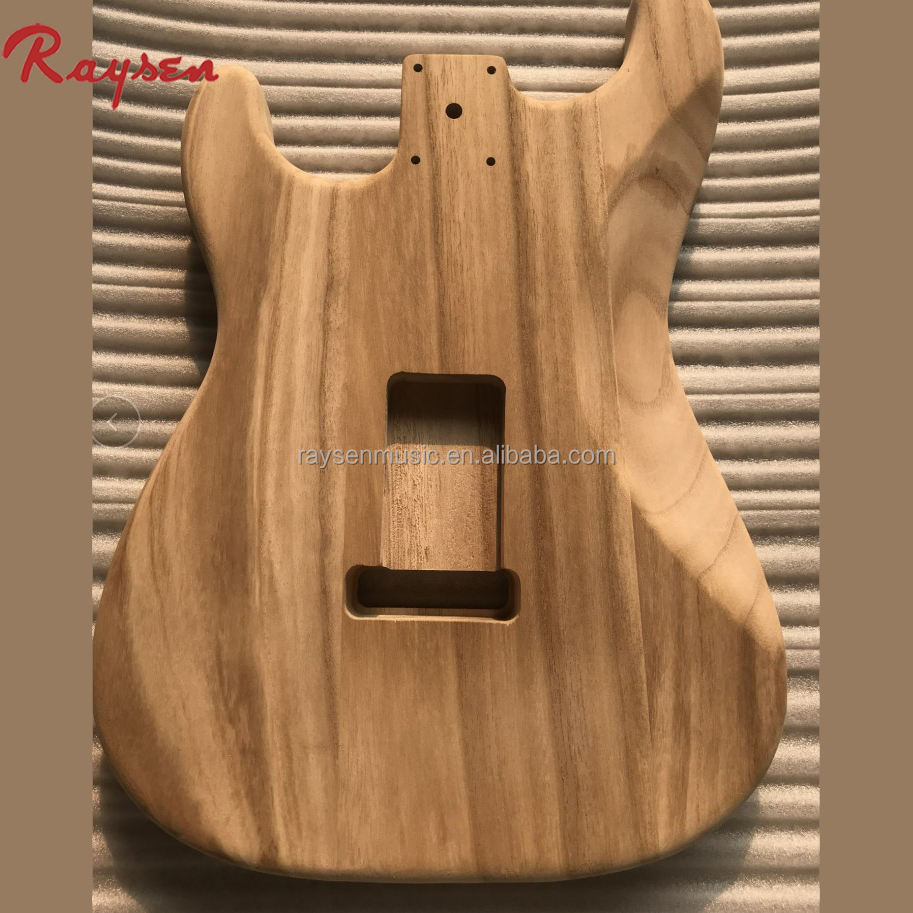 Maple hollow body for ST electric guitar wholesale DIY guitar kits