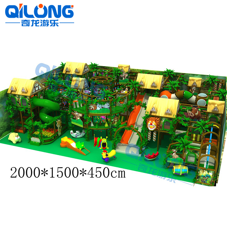 Kindergarten Furniture/Indoor Plastic Playground Equipment/Kids Naughty Castle Equipment