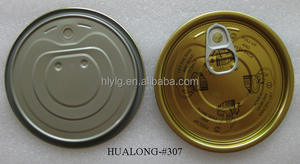 Tin lids for cans #307