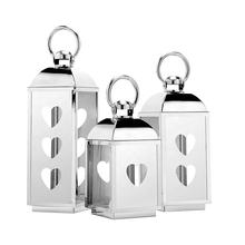 Stainless Steel Lanterns for Garden Decoration and Wedding Decorative