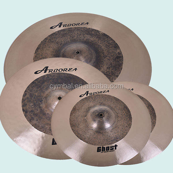 B20 high quality cymbals drum cymbals ARBOREA Ghost cymbal set