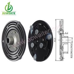OD 110 Automotive MAGNETIC a/c clutch hub With 12.9*14.7*3.2