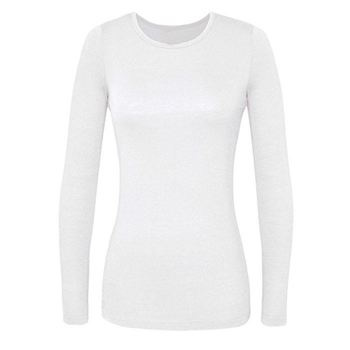 Women's Comfort Long Sleeve T-Shirt Underscrub Tee