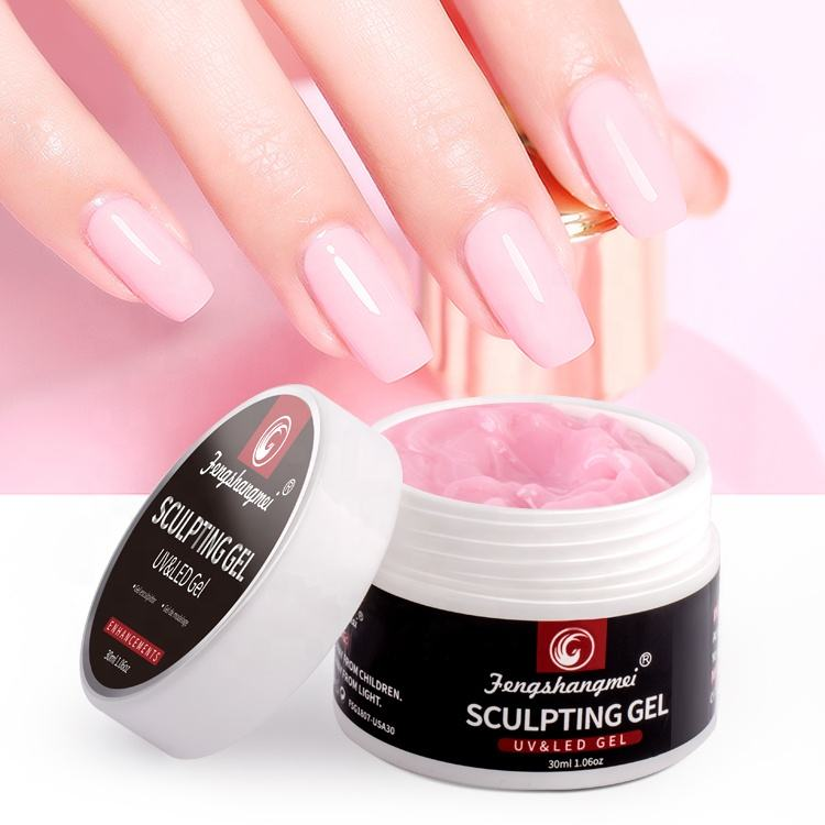 fengshangmei brand Best selling free samples Sculpture Gel hard gel Nail Polish sculpting nail