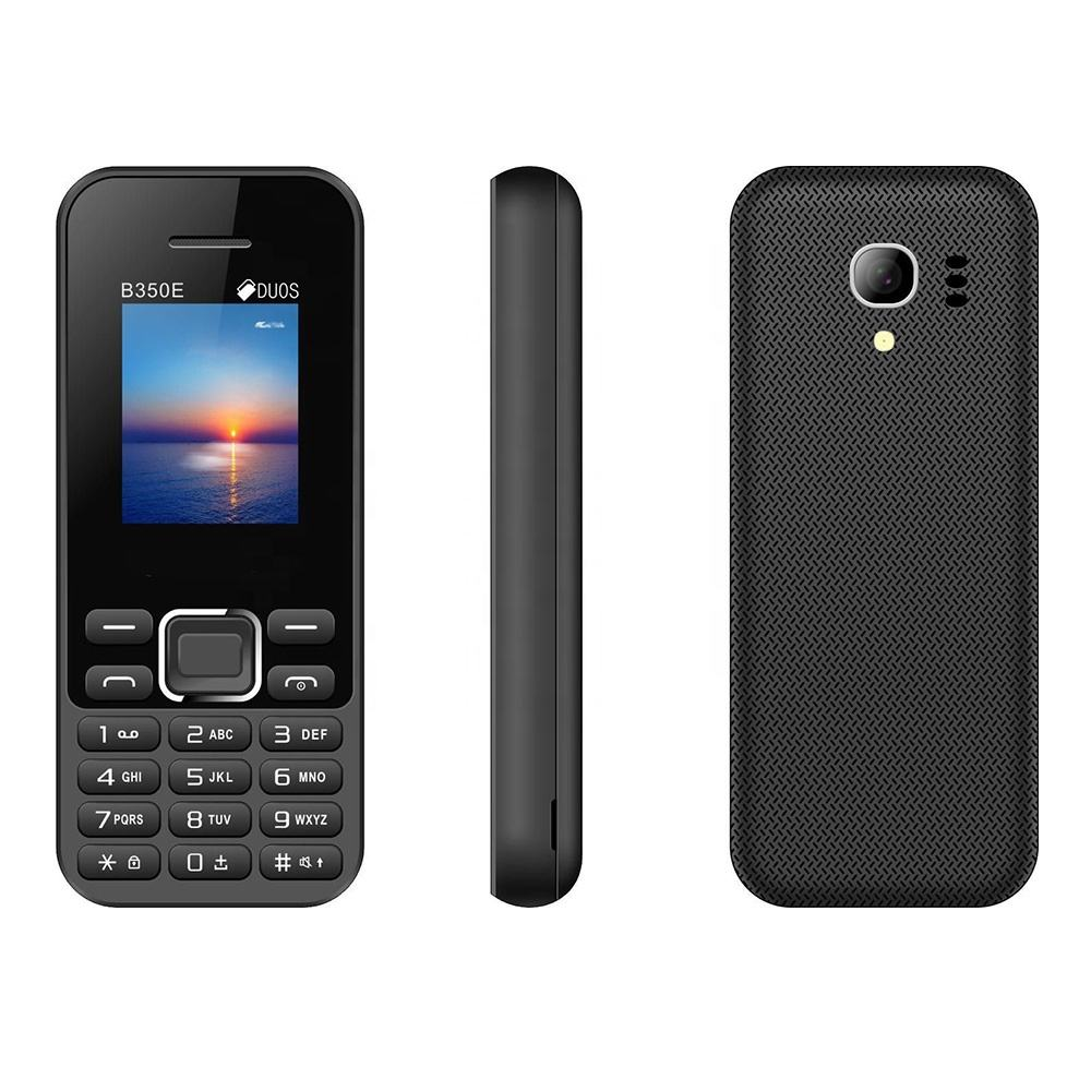 korean brand mobile phones B350 cell phone black color celulares baratos