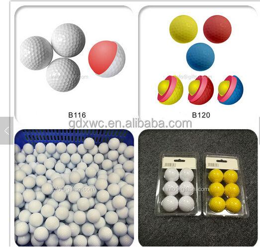 EVA mousse matière colorée eva en <span class=keywords><strong>caoutchouc</strong></span> golf balle en mousse/mousse piscine à balles/jouet balles