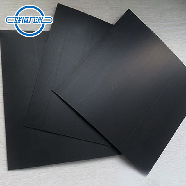 Best-selling Global HDPE PVC EPDM 0.2mm tot 3.0mm geomembraan liners