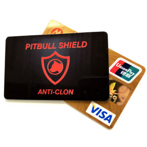 Custom Branded RFID Blocking Card, Contactloze NFC Bank Debet Credit Card Blocker