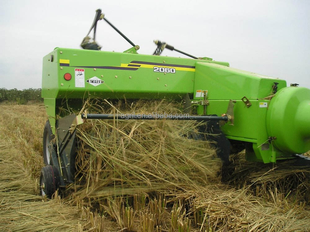 high working efficiency tractor PTO use square hay baler grass square baler straw square baler with CE