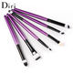 High Quality 6PCS/set Professional Eye Brushes Set 5 colors Cosmetic Make Up Brush Tools Kit