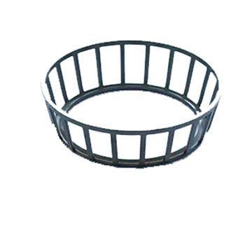 High performance steel ball bearing cage