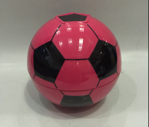 2019 Cheap Custom Promotion plastic melamine soccer bowl Plastic Football Bowl Soccer ball bowl