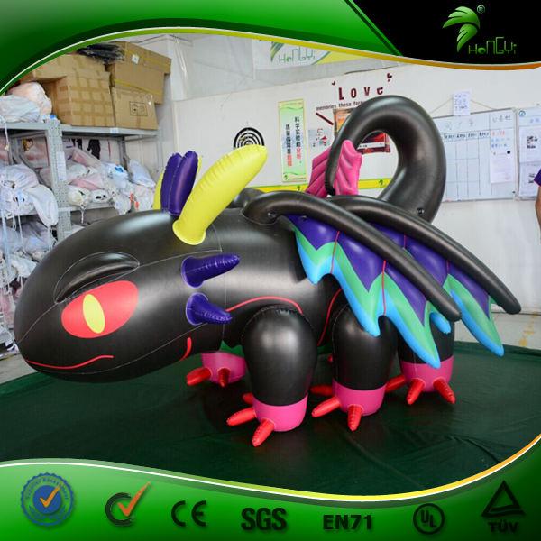 <span class=keywords><strong>Personnalisé</strong></span> Conception Gonflable Dragon Ball z Chiffres de Bande Dessinée Animale Dragon Caractère Jouets UV Impression