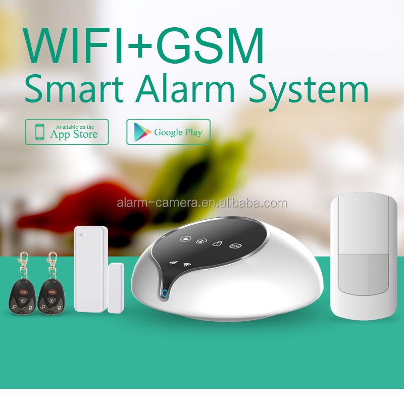 Casa perfecta solución WIFI sistema de <span class=keywords><strong>alarma</strong></span> inalámbrico, SMS de <span class=keywords><strong>alarma</strong></span> y <span class=keywords><strong>alarma</strong></span> de llamada de espera para wifi apagado