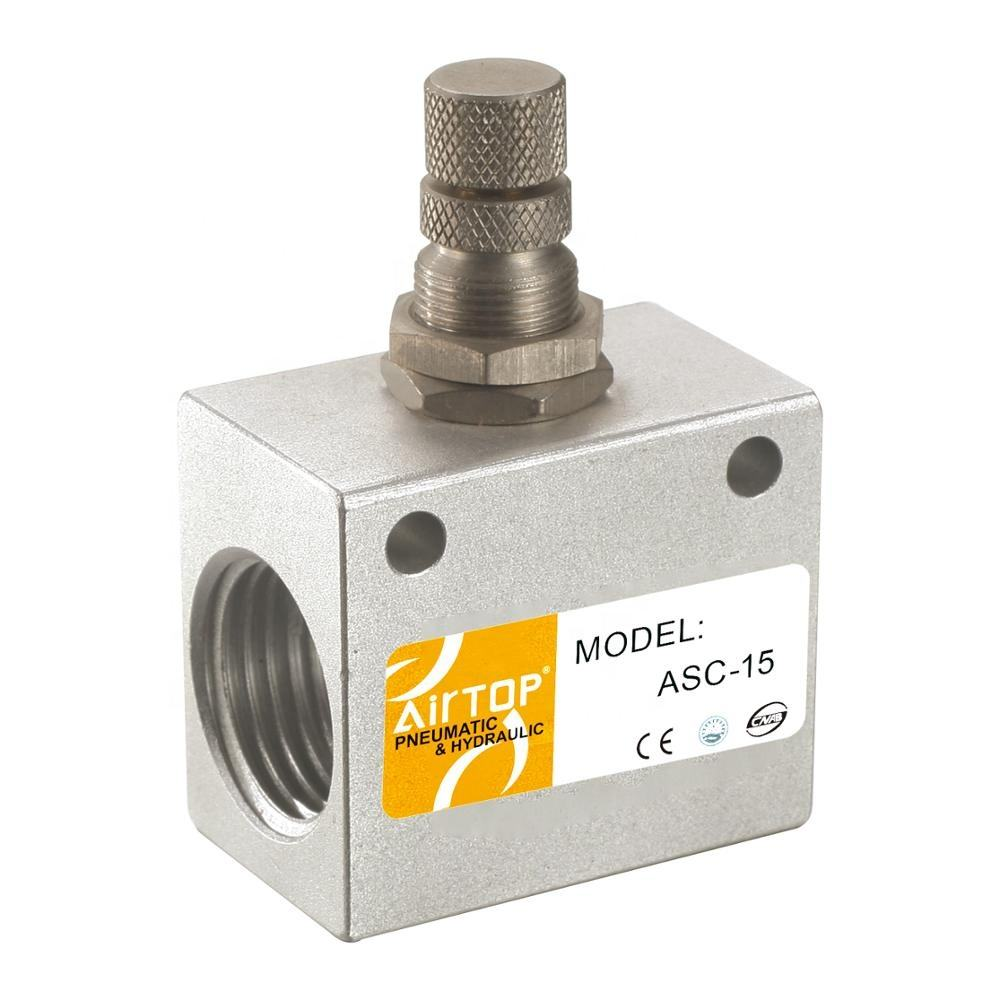 ASC Series Precision type One-Way Restrictive Valve