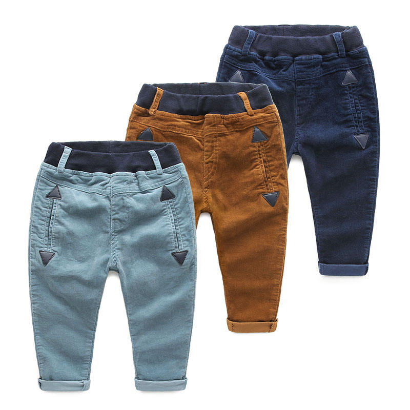 Hot Selling Autumn Kid Boy Clothing Frock Design Jogger Pants Of Child Clothes