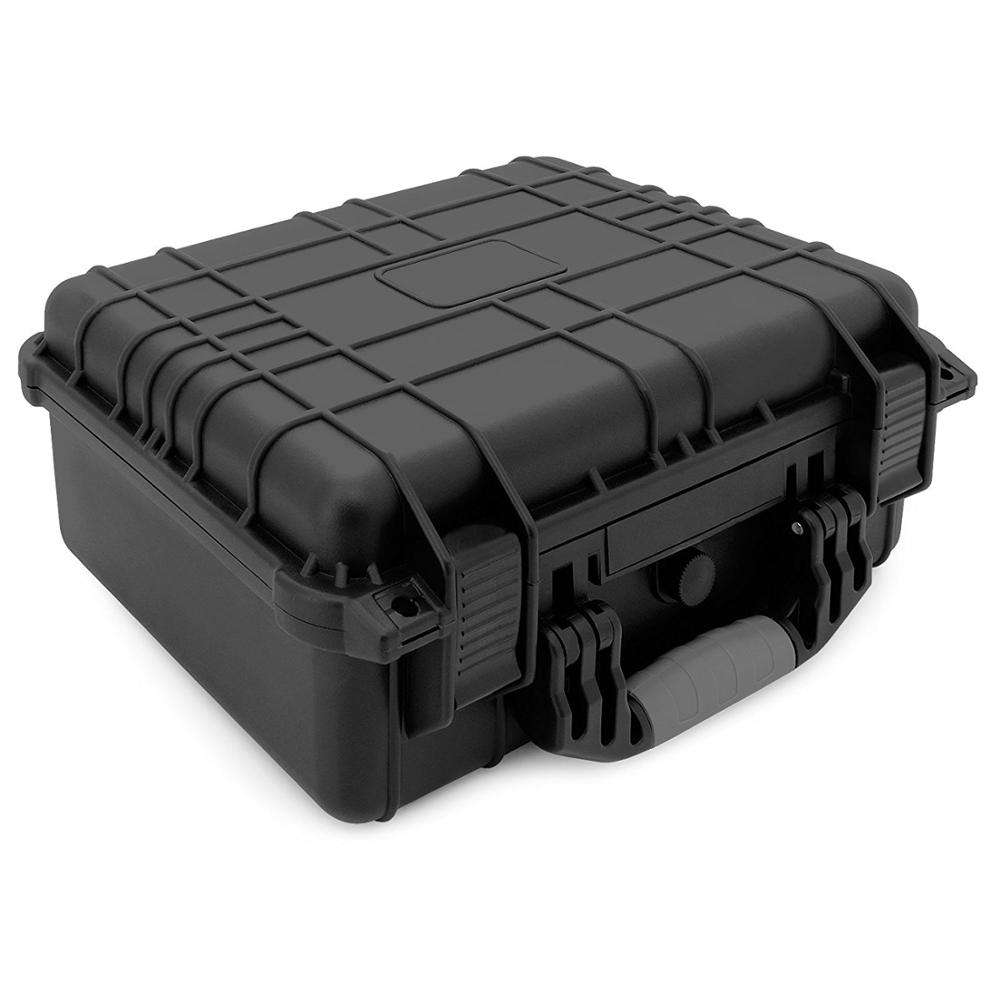 ip67 hard plastic watertight shockproof decent suitcases plastic carrying case