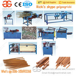 Bamboo Stick Production Line Disposable Wooden Chopsticks Making Machine