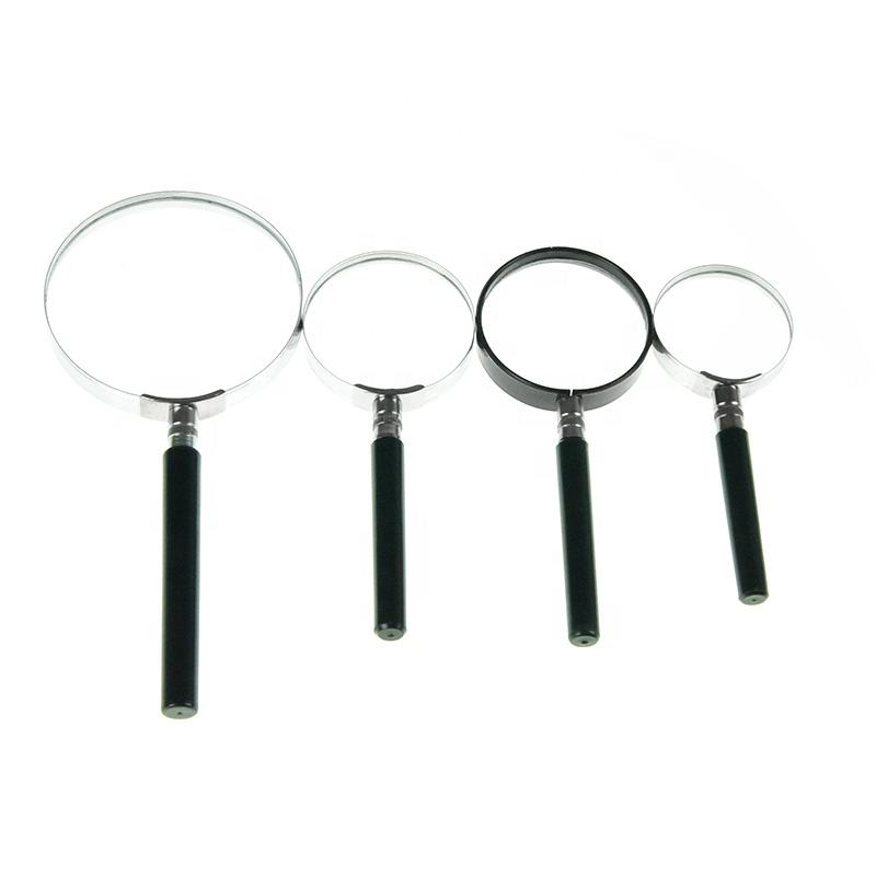 Fashion design promotional Stainless steel magnifying glass for teaching