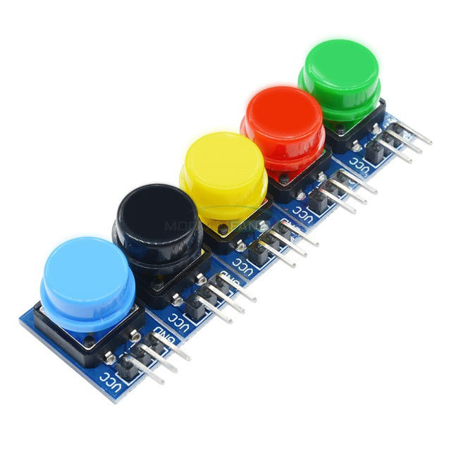 12X12MM Big Key Module Big Button Module Light Touch Switch Module With Hat High Level Output For Arduinos