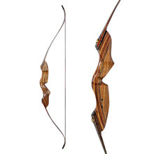 "Wholesale archery Osprey 60"" hunting wooden takedown recurve bow"