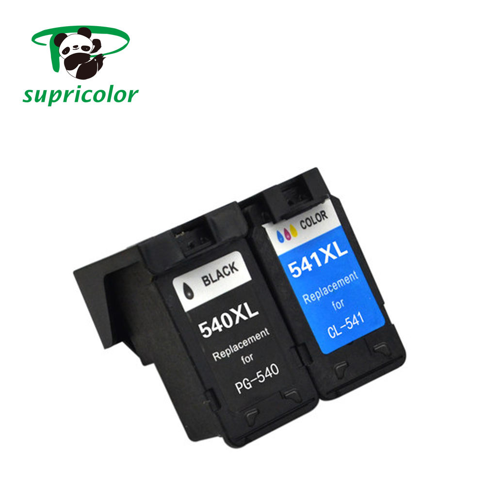 PG 540 CL 541 compatible PIXMA MG2180 3180 remanufactured ink cartridge with reset chip for canon pg 540