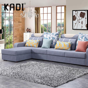 Chinese design linen fabric sofa manufacturer