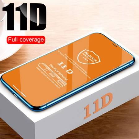 11D Curved Edge Protective Glass on the For iPhone 7 8 6 6S Plus Tempered Screen Protector For iPhone X XS Max XR Glass Film