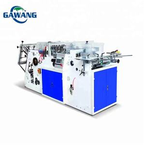 Automatic rigid take away hamburger paper box making machine With CE