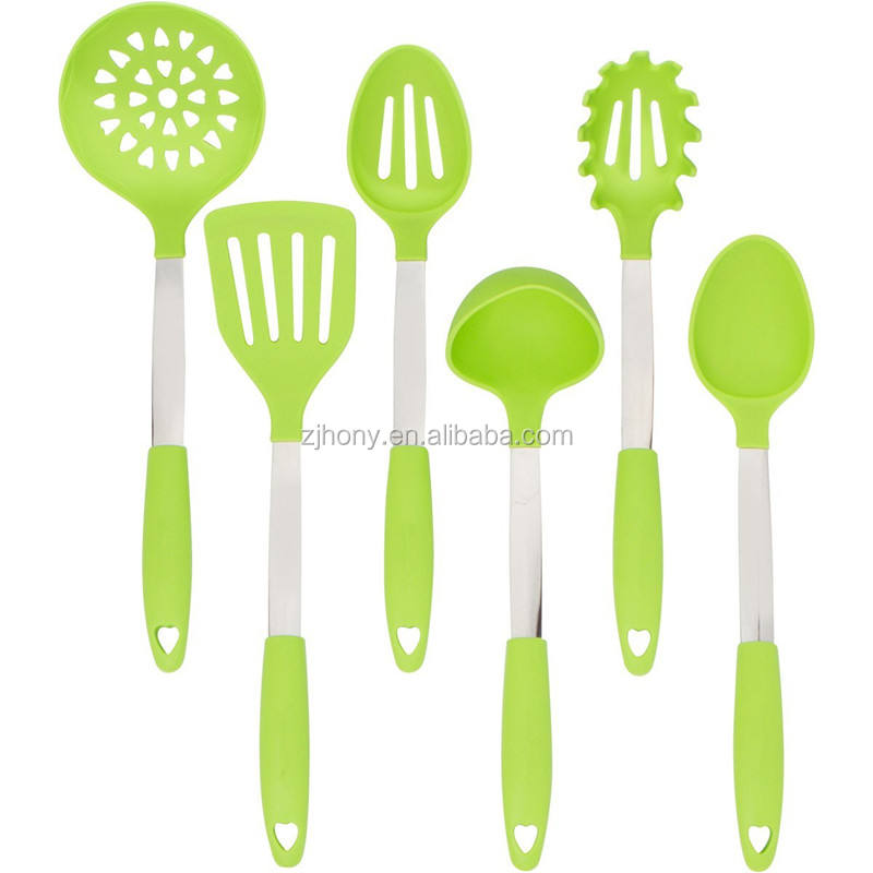 Alat Dapur Slotted Sendok Ladle Drainer Pasta Server Spatula Turner Solid Serving Spoon