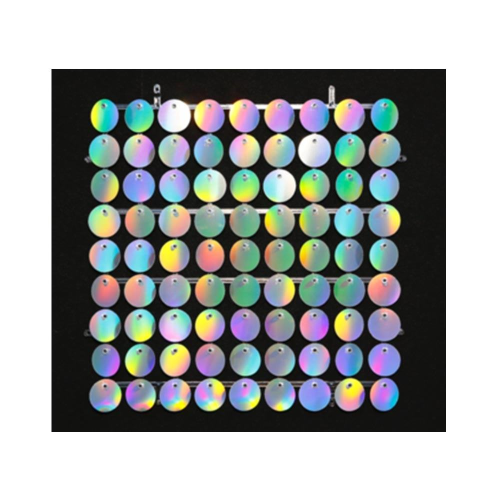 Reversible Sequin Pet Glitter Holographic Film Shimmer Sequin Wall Panel