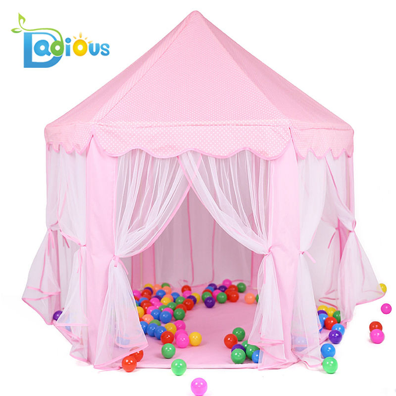 ABDL 2018 Best Selling Meisjes Indoor en Outdoor <span class=keywords><strong>Prinses</strong></span> Kasteel Kids Play Tent <span class=keywords><strong>Huis</strong></span>