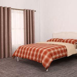 China fornecedor nenhum MOQ 4 pc personalizado impresso edredon conjunto de folha de cama