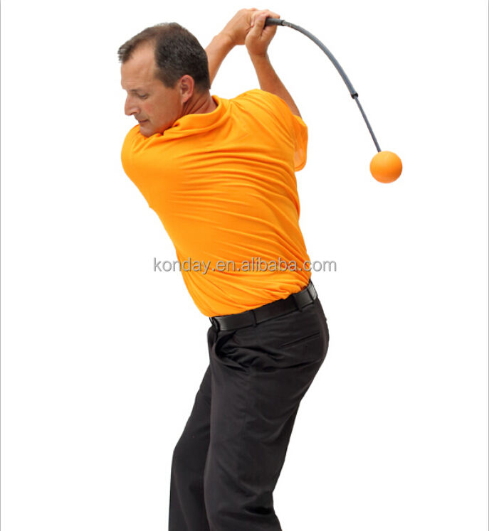 New Trend Orange Tempo Swing Trainer for golf training aids