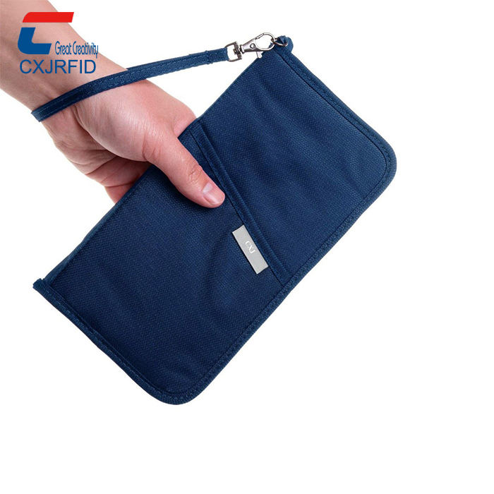 RFID blocking zip Travel purse Wallet CXJ large capacity luxury security for your passport Credit Cards IDs Wallets