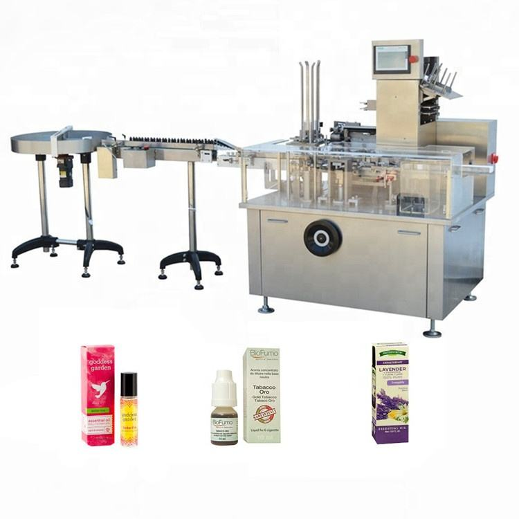 Automatic carton box packing machine eye drop cartoning with CE certificate