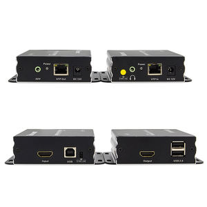 TESmart 3840*2160 @ 30Hz 100m 4K HDMI KVM Extender Mit Audio Out
