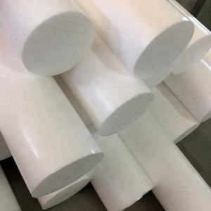 Pure Extruded PTFE Bar Plastic Round Rod 100% virgin PTFE Rod
