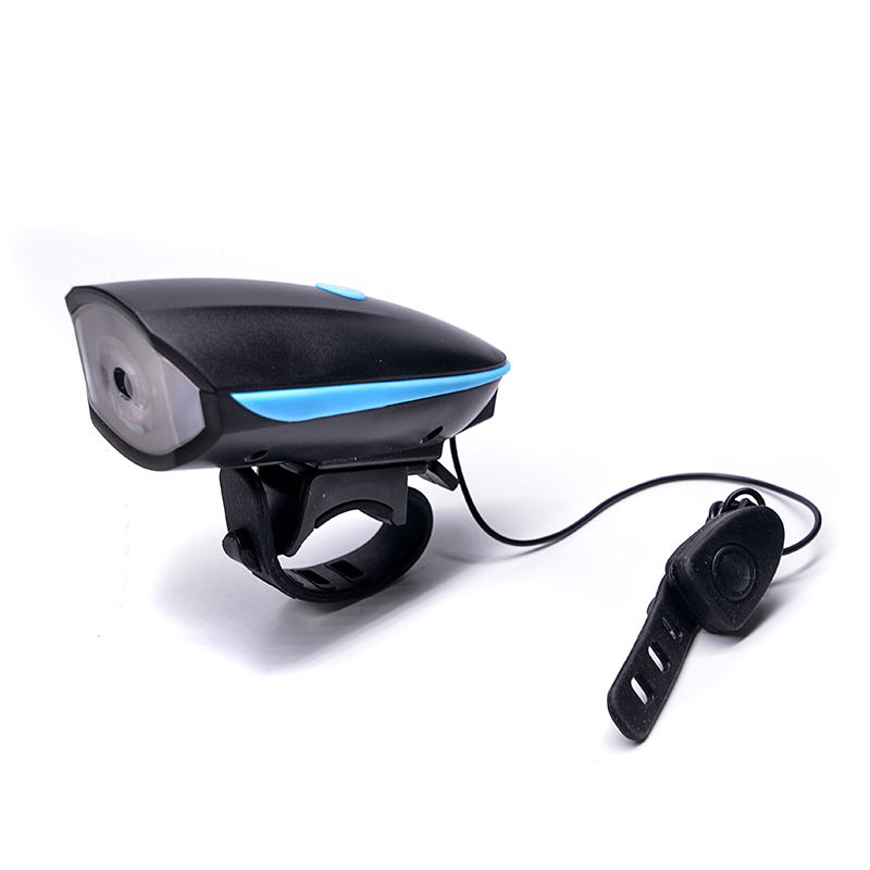 Super Bright Rechargeable Battery Bicycle Accessories Led Light with Horn Speak Light