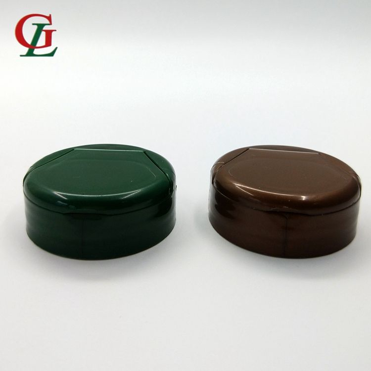 Hot sale PP 38mm-400 colorful plastic tube flip top cap, easy open lid, plastic bottle cover for medicine bottle