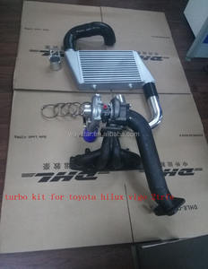 Kit turbo completo para toyota tacoma hilux 2tr-fe gasolina 2,7l 4cyl turbo kit