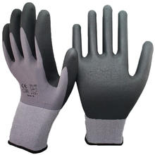 15G Nylon Spandex Knit Micro Foam Nitrile Coated Gloves Luvas de Guantes Nitrilo Micro-foam Automotive Repairing Garden Gloves